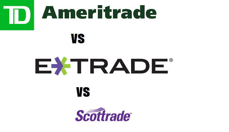 TD Ameritrade vs Scottrade vs ETrade: Online Broker Comparison