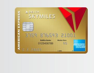 Delta AMEX Card (Delta Sky Miles Offer)