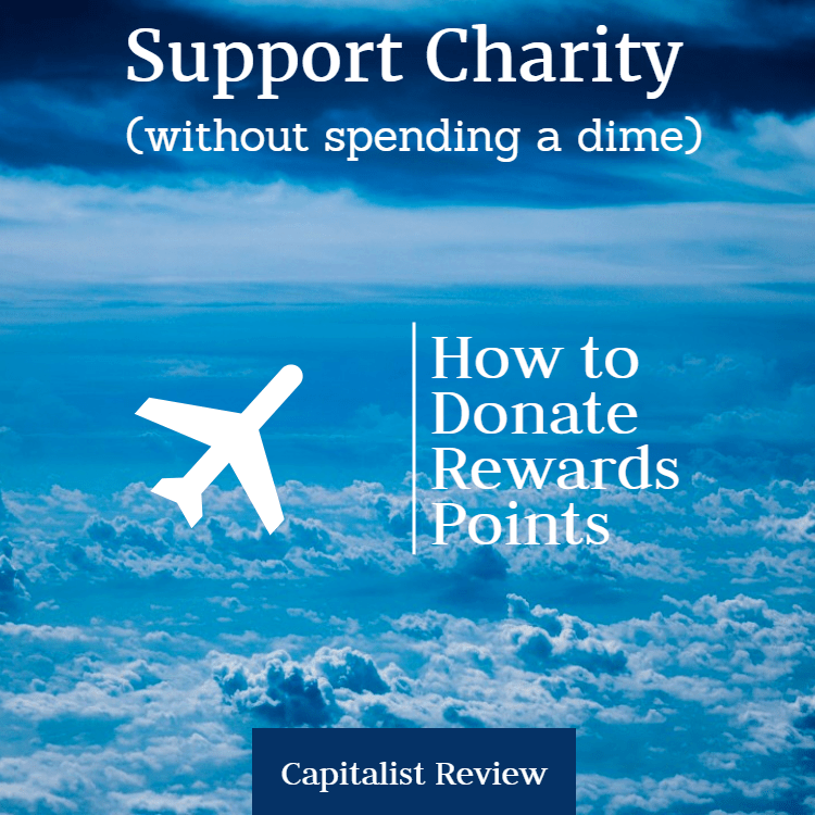 How to Use Miles & Points to Support Charity