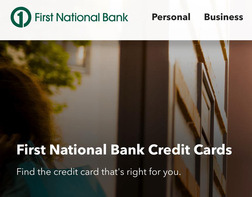 FirstNationalCC Apply (Enter Reservation Number)