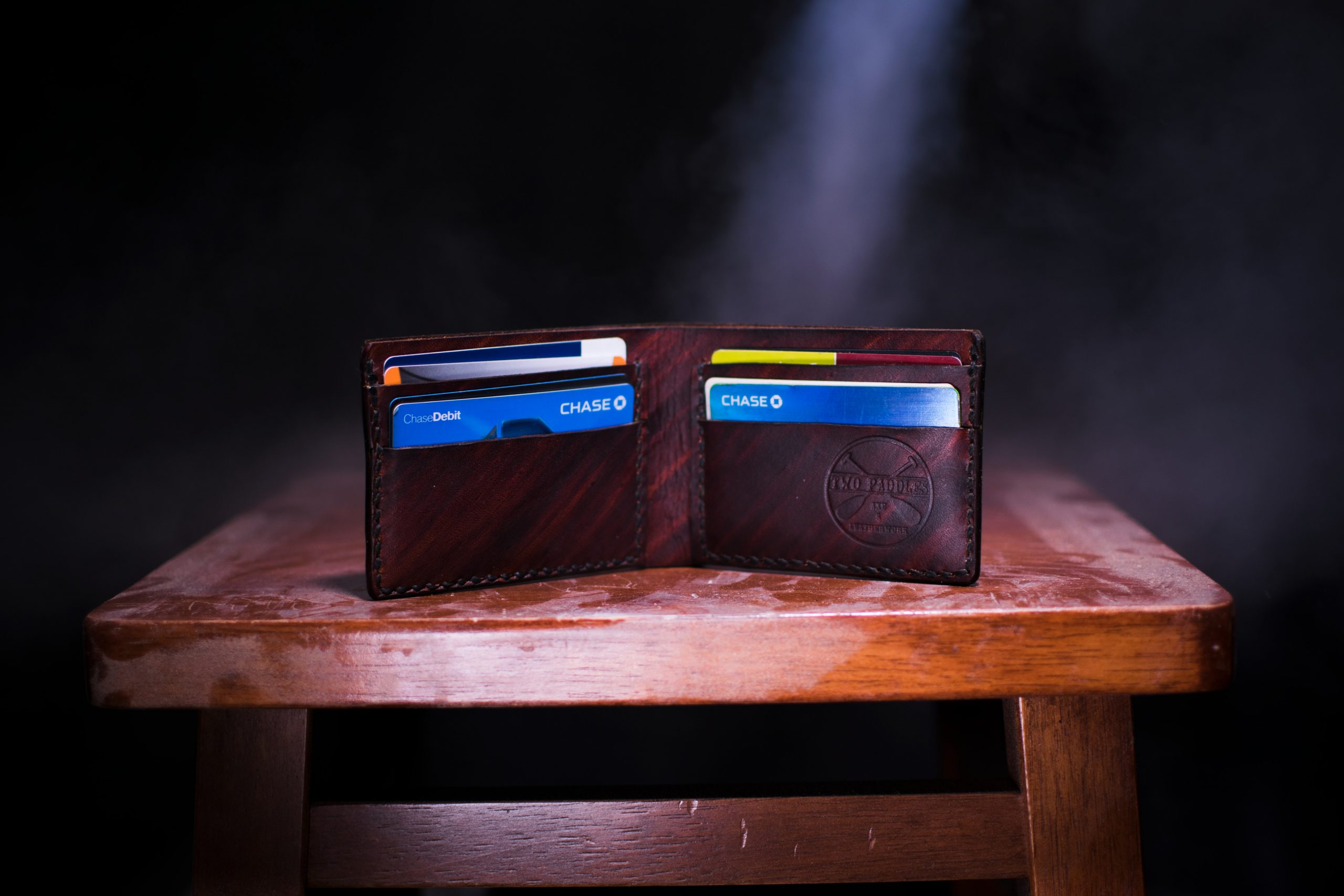 churning credit cards, americanexpress, chase, leather wallet
